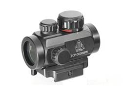Leapers UTG Micro Red Dot Sight 30mm 1x Red and Green Dot with Quick-Detach Weaver/Picatinny-Styl...