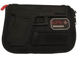 G.P.S. Custom Molded Pistol Case Glock Pistols Black