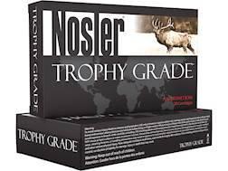 Nosler Trophy Grade Ammunition 6.5 Creedmoor 140 Grain Accubond Box of 20