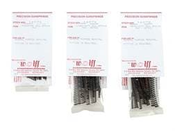 Wolff Coil Spring Combination Pack #3 with Miniature, Light-Duty Metric, Heavy Duty Metric Coil S...