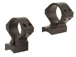 """Talley Lightweight 2-Piece Scope Mounts with Integral 1"""" Rings 98 Mauser Large Ring Matte Low"""
