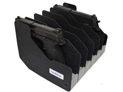 Benchmaster Pistol Rack Closed Cell High Density Foam Black