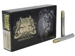 Nosler Safari Ammunition 458 Winchester Magnum 500 Grain Solid Box of 20