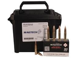 Magtech First Defense Ammunition 300 AAC Blackout 123 Grain Full Metal Jacket Ammo Can of 200 (4 ...