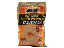 HotHands Super Body and Hand Warmer Pack of 10