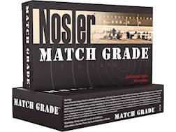 Nosler Match Grade Ammunition 22 Nosler 85 Grain RDF Hollow Point Boat Tail Box of 20