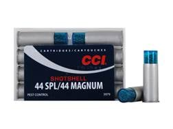 CCI Shotshell Ammunition 44 Special 140 Grains #9 Shot