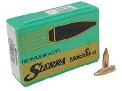 Sierra MatchKing Bullets 6.8mm Remington SPC (277 Diameter) 115 Grain Hollow Point Boat Tail Box ...