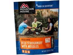 Mountain House Beef Stroganoff Freeze Dried Food 4.8 oz