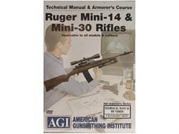 "American Gunsmithing Institute (AGI) Technical Manual & Armorer's Course Video ""Ruger Mini-14 & M..."