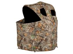 """Ameristep Deluxe Tent Chair Ground Blind 61"""" x 60"""" x 52"""" Polyester Realtree Edge Camo"""