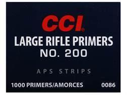CCI Large Rifle APS Primers Strip #200