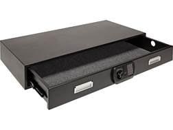 SnapSafe Under Bed Safe with Electronic Lock Matte Black