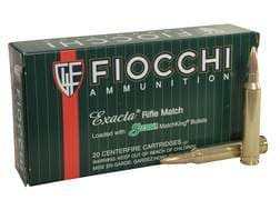 Fiocchi Exacta Ammunition 300 Winchester Magnum 190 Grain Sierra MatchKing Hollow Point Boat Tail...