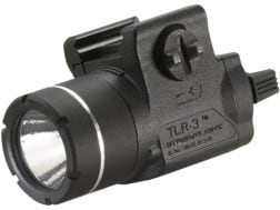 Streamlight TLR-3 Weapon Light LED with 3V CR2 Battery fits Picatinny or Glock-Style Rails Polyme...