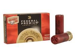 "Federal Premium Vital-Shok Ammunition 12 Gauge 2-3/4"" 00 High Density Lead-Free Buckshot 9 Pellet..."