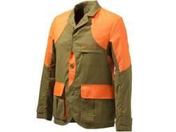 Beretta Men's American Upland Light Jacket Polyester/Nylon Light Brown and Orange XL