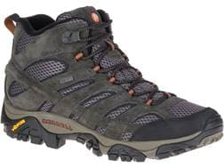 """Merrell Moab 2 Mid 5"""" Waterproof Hiking Boots Leather/Synthetic Men's"""