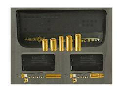AimShot Modular Laser Bore Sight Kit 9mm Luger with MBS30 and 5 Pistol Arbors