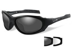 Wiley X XL-1 Advanced Changeable Series Safety Sunglasses Matte Black Frame Smoke and Clear Lenses