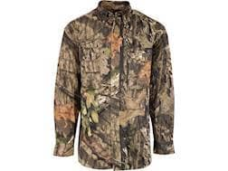 MidwayUSA Men's All Purpose Long Sleeve Field Shirt Mossy Oak Break-Up Country Camo Large