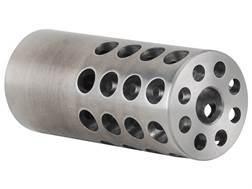 "Vais Muzzle Brake Varmint 264 Caliber, 6.5mm 5/8""-32 Thread .875"" Outside Diameter x 2"" Length Steel"