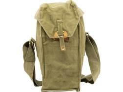 Military Surplus Belgium Gas Mask Bag Grade 2 Olive Drab