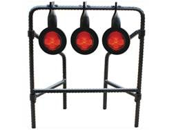 Do-All Bonehead Rebar Triple Spinner Target 22 Caliber Rimfire Steel
