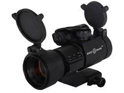 Sightmark Tactical Red Dot Sight 30mm Tube 1x 8 MOA Dot Integral Weaver-Style Mount Matte