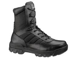 """Bates Tactical Sport 8"""" Composite Safety Toe Side-Zip Tactical Boots Leather/Nylon Men's"""