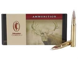 Nosler Custom Ammunition 338-06 A-Square 225 Grain AccuBond Spitzer Box of 20