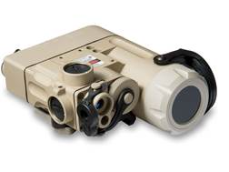 Steiner DBAL-D2 Dual Beam Aiming Laser Green with IR LED Illuminator, Quick Detach Picatinny-Styl...