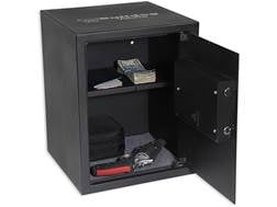 Bulldog Digital Pistol Vault Lockbox with Electronic Lock Black