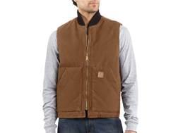 Carhartt Men's Sandstone Arctic Quilt-Lined Vest Cotton