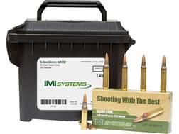 IMI Ammunition 5.56x45mm 69 Grain Razor Core (Sierra MatchKing Hollow Point) Ammo Can of 120 (6 B...