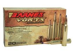Barnes VOR-TX Ammunition 300 Winchester Magnum 180 Grain TTSX Polymer Tipped Spitzer Boat Tail Le...