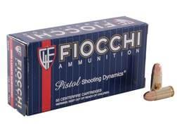 Fiocchi Shooting Dynamics Ammunition 9mm Luger Subsonic 158 Grain Full Metal Jacket Box of 50