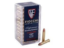 Fiocchi Ammunition 22 Winchester Magnum Rimfire (WMR) 40 Grain Jacketed Soft Point