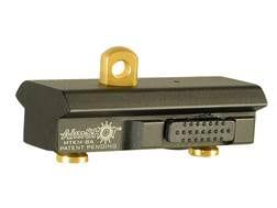 Aimshot KeyMod Quick Release Bi-Pod Adapter Aluminum Black