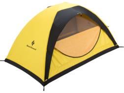 "Black Diamond Equipment Ahwahnee 2 Person Dome Tent 90"" x 53"" x 45"" ToddTex Fabric Yellow"
