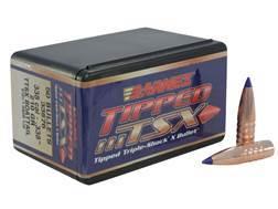 Barnes Tipped Triple-Shock X (TTSX) Bullets 338 Caliber (338 Diameter) 210 Grain Spitzer Boat Tai...
