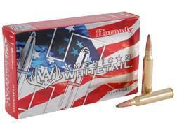 Hornady American Whitetail Ammunition 7mm Remington Magnum 139 Grain Interlock Spire Point Box of 20