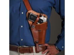 El Paso Saddlery 1942 Tanker Shoulder Holster Right Hand 1911 Russet Brown