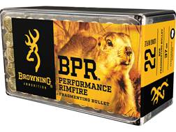 Browning BPR Ammunition 22 Long Rifle 37 Grain Fragmenting Hollow Point