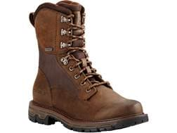 """Ariat Conquest GTX 8"""" Waterproof GOER-TEX Hunting Boots Leather Men's"""