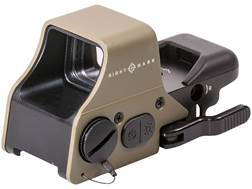 Sightmark Ultra Shot Plus Reflex Sight 1x Selectable Reticle with Quick-Detachable Weaver Mount F...