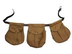Beretta Waxwear Waterproof Triple Game Belt Game Bag Waxed Cotton/Leather Tan