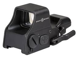 Sightmark Ultra Shot Plus Reflex Sight 1x Selectable Reticle with Quick Detachable Weaver Mount
