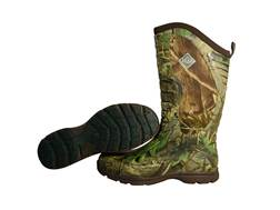 """Muck Pursuit Stealth Cool 15"""" Hunting Boots Rubber and Nylon Realtree APG Camo Men's"""