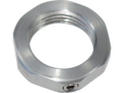 L.E. Wilson Full Length Die Stainless Steel Lock Nut with Set Screw